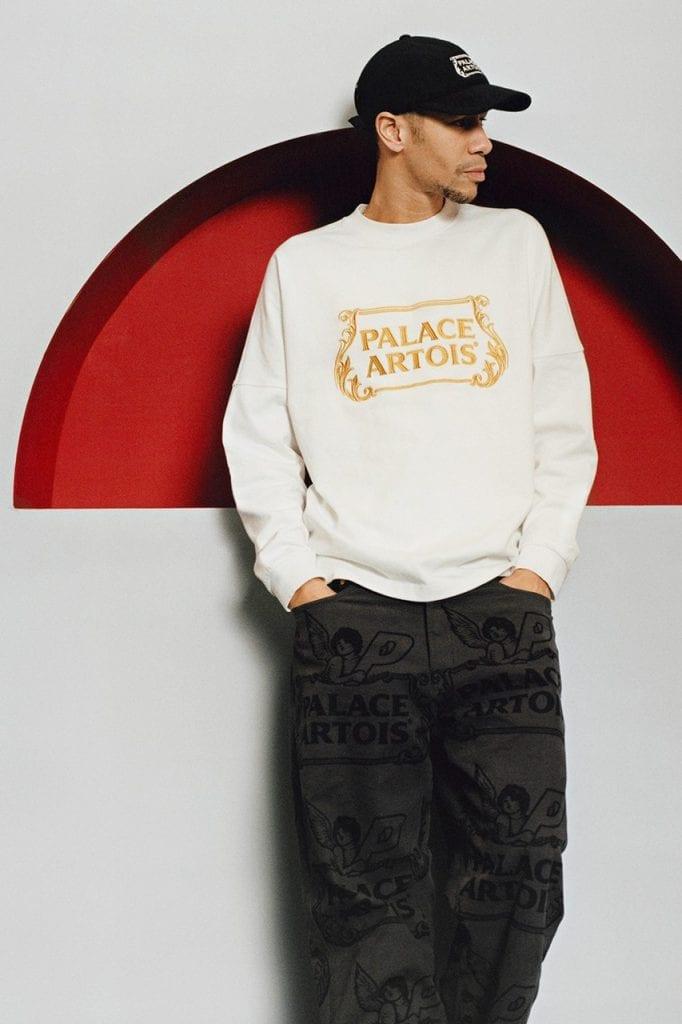 Stella Artois, Palace Artois, Palace Skateboards, модная коллаборация, одежда и пиво, мода, fashion, dcw magazine, толстовка