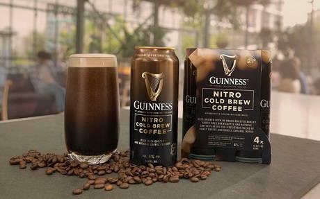 Guinness Nitro Cold Brew Coffee, Guinness, пиво со вкусом кофе, пиво, кофе, кофейное пиво, dcw magazine, журнал о барах