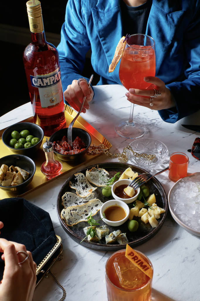 PRIMI Aperitivo Bar, DCW Magazine, журнал о барах, еда и вино, куда пойти в петербрге, бары петроградки, бесплатные закуски, аперитив в питере