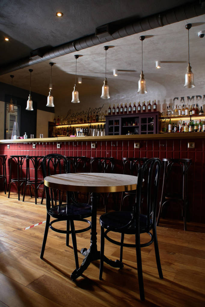 PRIMI Aperitivo Bar, DCW Magazine, журнал о барах, дизайн бара, бары петроградки, куда пойти в петербурге